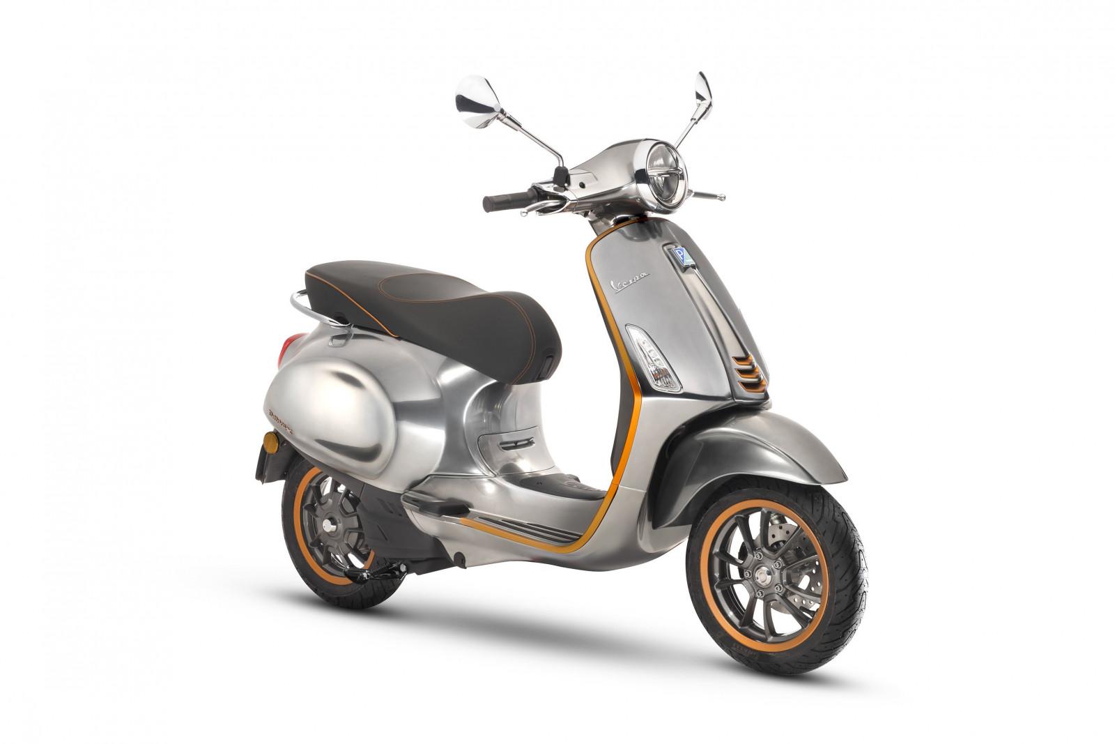 vespa elettrica elektrische scooters 2018. Black Bedroom Furniture Sets. Home Design Ideas
