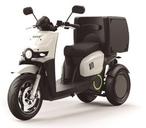 silence s03 electric cargo scooter